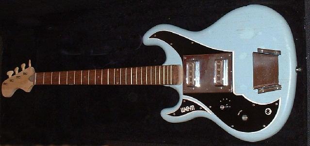 Wilson sapphire guitar